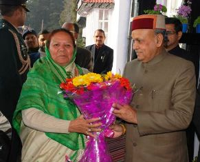 Welcome Himachal Governor