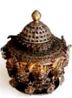 Tibetan Incense Burner of Dharamsala