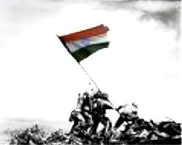 Indian Flag at  Independence Day