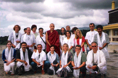 Karmapa with Group from Portugal
