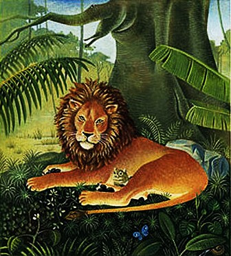 Lion and the Mouse..Aesop Fables