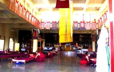 Meditating Monks of Gyuto, Dharamsala