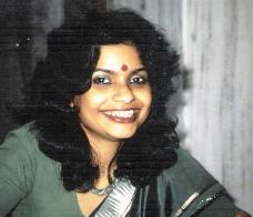 Smiling Sangeeta in Dharamsala  India